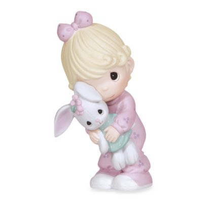 Precious Moments® Jesus Loves Me Girl with Bunny