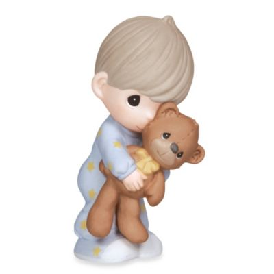 Precious Moments® Jesus Loves Me Boy with Teddy