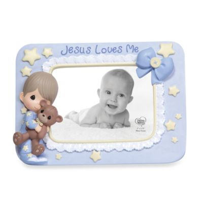 Precious Moments® Jesus Loves Me Boy Photo Frame