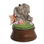 Precious Moments® Bazooples Never Forget He Loves You Elephant Musical Figurine