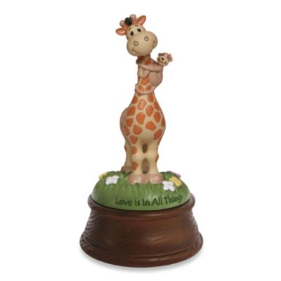 Precious Moments® Bazooples Love Is in All Things Giraffe Musical Figurine