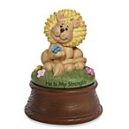 Precious Moments® Bazooples He Is My Strength Lion Musical Figurine
