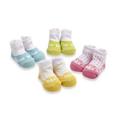 Cutie Pie® 4-Pack Polka Dot Sock Set