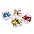 Cutie Pie® 4-Pack Velcro Sneaker Sock Set