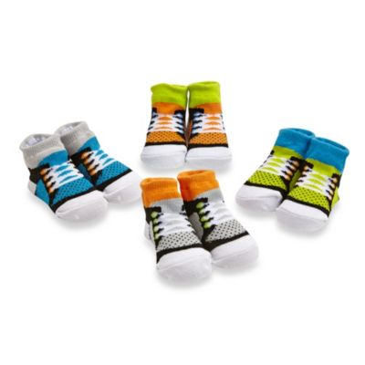 Cutie Pie® 4-Pack Lace Sneaker Sock Set