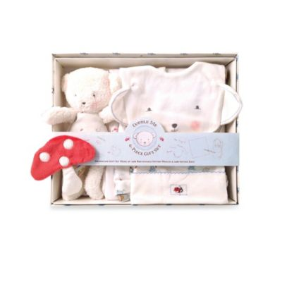 Bunnies By The Bay 6-Piece Bear Cuddle Me Gift Set