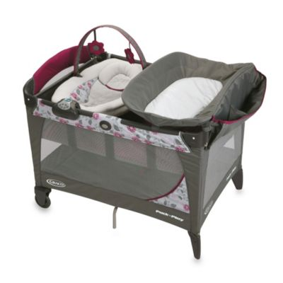 Playards > Graco® Pack 'n Play® Playard with Newborn Napper® Station LX in Amelia