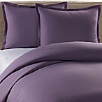 Pure Beech Percale Duvet Cover and Sham Set in Purple