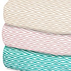 Oliver B Diamond Fitted Sheet Crib Sheet