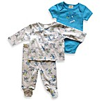 Absorba® Boy's Dog Print 3-Piece Jacket Set