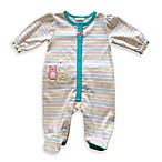 Absorba® Girl's Kitty Cat Cotton 1-Piece Footie