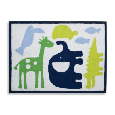 Carter's® Safari Sky 30-Inch x 40-Inch Rug in Blue/Green