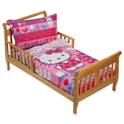 Hello Kitty Modern Garden 4-Piece Bedding Set