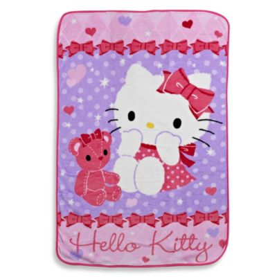 Hello Kitty® and Friends Coral Fleece Blanket