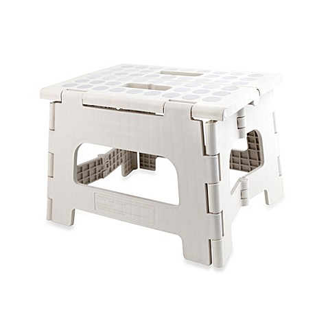 Step Stools Gt Kikkerland 174 Rhino Ii Folding Stool In White