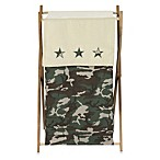 Sweet Jojo Designs Camo Hamper in Green