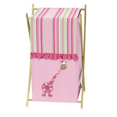 Sweet Jojo Designs Jungle Friends Laundry Hamper