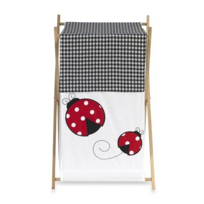 Sweet Jojo Designs Ladybug Laundry Hamper