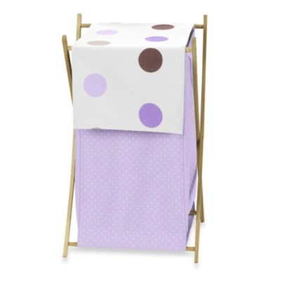 Baby Hamper with Dotted Liner