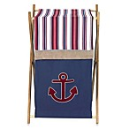 Sweet Jojo Designs Nautical Nights Laundry Hamper