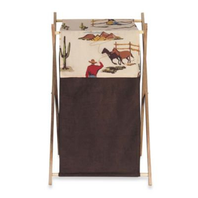 Sweet Jojo Designs Wild West Laundry Hamper
