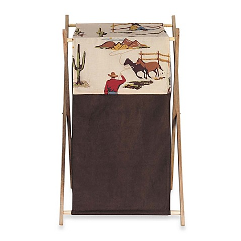 Sweet Jojo Designs Wild West Laundry Hamper Www