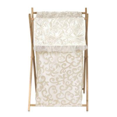 Ivory Laundry Hamper