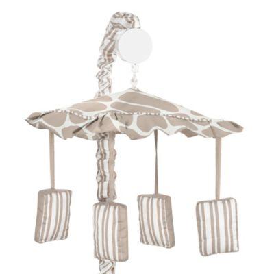 Sweet Jojo Designs Giraffe Crib Bedding Collection > Sweet Jojo Designs Giraffe Musical Mobile