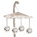Sweet Jojo Designs Little Lamb Musical Crib Mobile