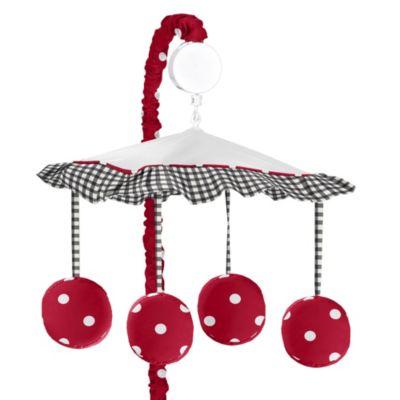 Ladybug Musical Mobile