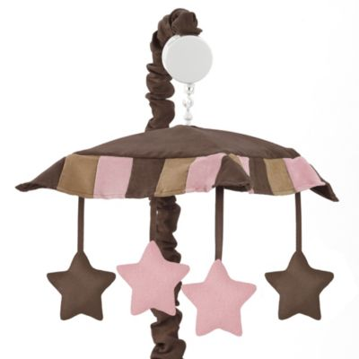 Pink Brown Musical Mobile