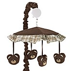 Sweet Jojo Designs Teddy Bear Musical Mobile in Chocolate