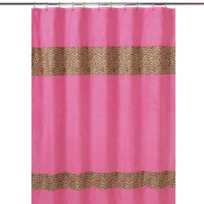 Girl Polyester Shower Curtain
