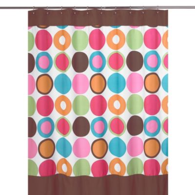 Colorful Dot Shower Curtain