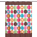 Sweet Jojo Designs Deco Dot Collection Shower Curtain