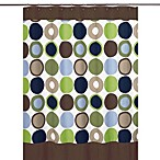 Sweet Jojo Designs Designer Dot Collection Shower Curtain