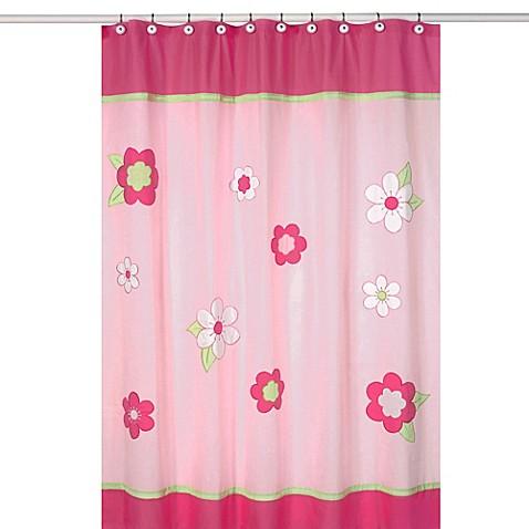 Buy sweet jojo designs pink and green flower collection for Sweet jojo designs bathroom
