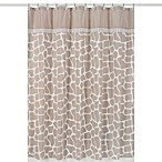 Sweet Jojo Designs 72-Inch x 72-Inch Giraffe Shower Curtain
