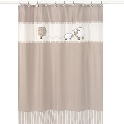 Sweet Jojo Designs Little Lamb Shower Curtain