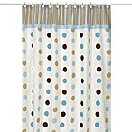 Sweet Jojo Designs Mod Dots Shower Curtain in Blue