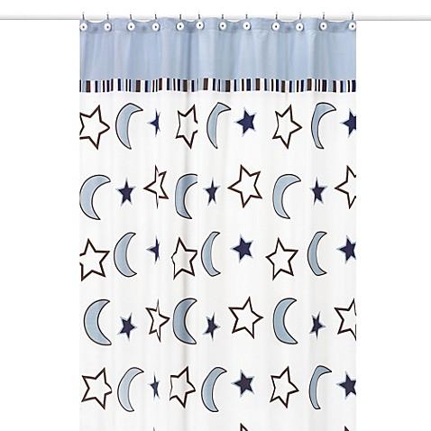 Sweet jojo designs starry night shower curtain bed bath for Sweet jojo designs bathroom
