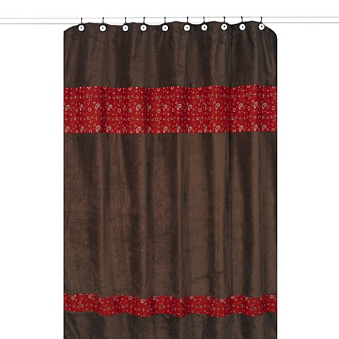Buy Curtains Brown And Red From Bed Bath Beyond