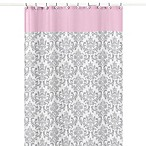 Sweet Jojo Designs 72-Inch x 72-Inch Elizabeth Shower Curtain