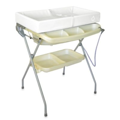 Free Shipping Store > Baby Diego Posh Bath and Changer Combo in Pearl