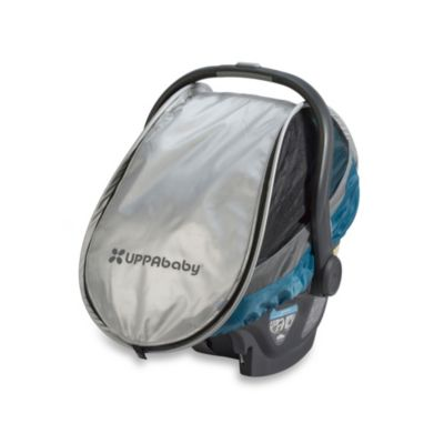 UPPAbaby® Cabana All-Weather Infant Car Seat Shield in Sebby Teal