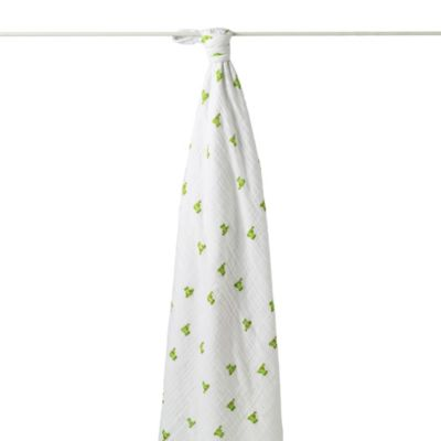 aden + anais® Cozy Muslin Swaddle in Mod About Baby Frog