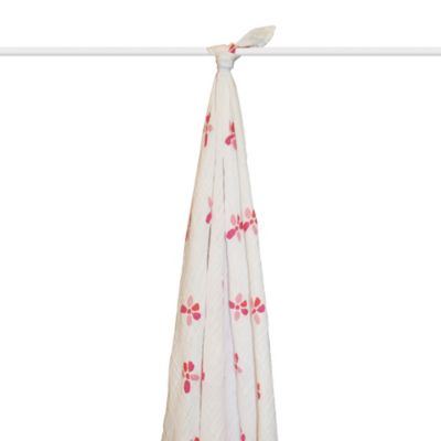 aden + anais® Organic Muslin Swaddle in Bloom