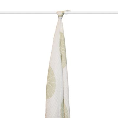 aden + anais® Organic Muslin Swaddle in Oasis
