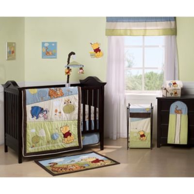 Disney® Friendship Pooh 4-Piece Crib Bedding Set