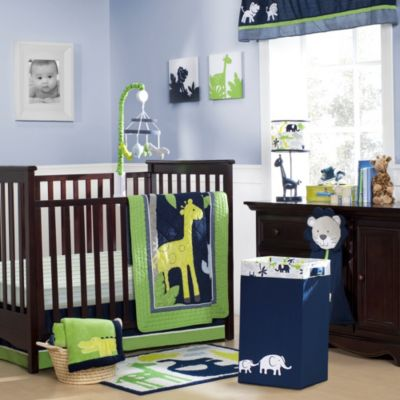 Carter's® Safari Sky 4-Piece Crib Set